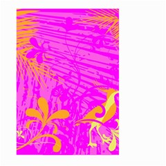 Spring Tropical Floral Palm Bird Large Garden Flag (two Sides)