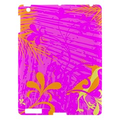 Spring Tropical Floral Palm Bird Apple iPad 3/4 Hardshell Case