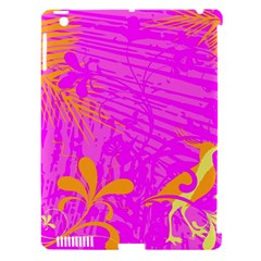 Spring Tropical Floral Palm Bird Apple iPad 3/4 Hardshell Case (Compatible with Smart Cover)