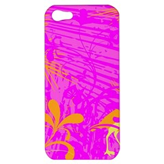 Spring Tropical Floral Palm Bird Apple iPhone 5 Hardshell Case