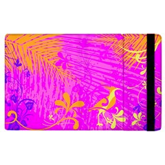Spring Tropical Floral Palm Bird Apple iPad 3/4 Flip Case