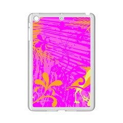 Spring Tropical Floral Palm Bird iPad Mini 2 Enamel Coated Cases