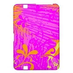 Spring Tropical Floral Palm Bird Kindle Fire Hd 8 9
