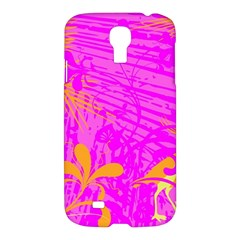 Spring Tropical Floral Palm Bird Samsung Galaxy S4 I9500/I9505 Hardshell Case