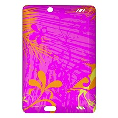 Spring Tropical Floral Palm Bird Amazon Kindle Fire HD (2013) Hardshell Case