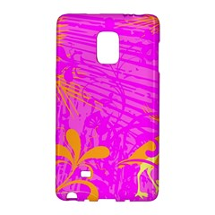 Spring Tropical Floral Palm Bird Galaxy Note Edge