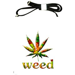 Marijuana Leaf Bright Graphic Shoulder Sling Bags
