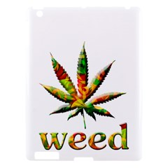 Marijuana Leaf Bright Graphic Apple iPad 3/4 Hardshell Case