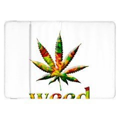 Marijuana Leaf Bright Graphic Samsung Galaxy Tab 8.9  P7300 Flip Case