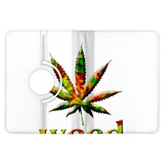 Marijuana Leaf Bright Graphic Kindle Fire HDX Flip 360 Case