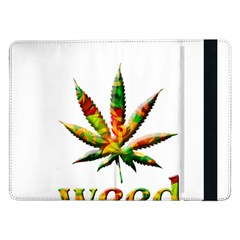 Marijuana Leaf Bright Graphic Samsung Galaxy Tab Pro 12.2  Flip Case