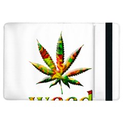Marijuana Leaf Bright Graphic iPad Air Flip