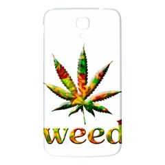 Marijuana Leaf Bright Graphic Samsung Galaxy Mega I9200 Hardshell Back Case