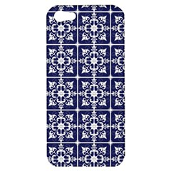 Leaves Horizontal Grey Urban Apple iPhone 5 Hardshell Case
