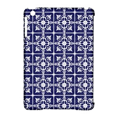 Leaves Horizontal Grey Urban Apple iPad Mini Hardshell Case (Compatible with Smart Cover)