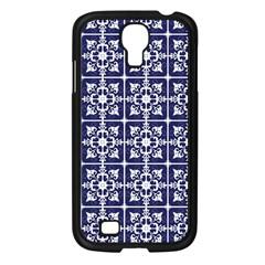 Leaves Horizontal Grey Urban Samsung Galaxy S4 I9500/ I9505 Case (Black)