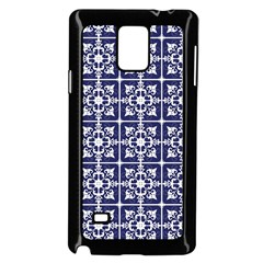 Leaves Horizontal Grey Urban Samsung Galaxy Note 4 Case (black)
