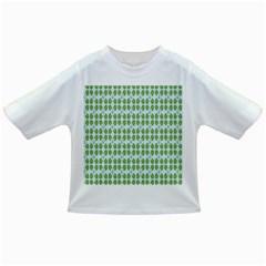 Leaf Flower Floral Green Infant/toddler T Shirts