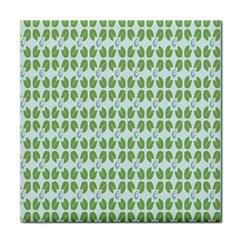 Leaf Flower Floral Green Face Towel