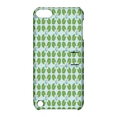 Leaf Flower Floral Green Apple iPod Touch 5 Hardshell Case with Stand