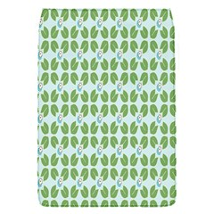 Leaf Flower Floral Green Flap Covers (S)