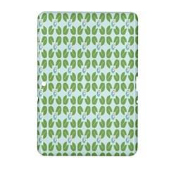 Leaf Flower Floral Green Samsung Galaxy Tab 2 (10.1 ) P5100 Hardshell Case
