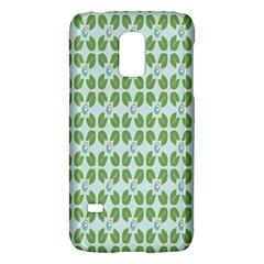 Leaf Flower Floral Green Galaxy S5 Mini