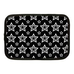 Star Black White Line Space Netbook Case (Medium)