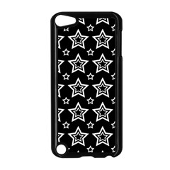 Star Black White Line Space Apple iPod Touch 5 Case (Black)