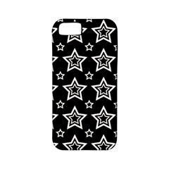 Star Black White Line Space Apple Iphone 5 Classic Hardshell Case (pc+silicone)