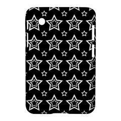 Star Black White Line Space Samsung Galaxy Tab 2 (7 ) P3100 Hardshell Case