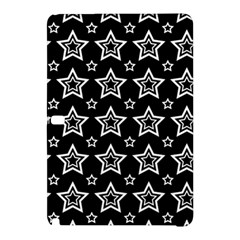 Star Black White Line Space Samsung Galaxy Tab Pro 10.1 Hardshell Case
