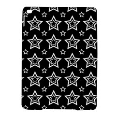 Star Black White Line Space iPad Air 2 Hardshell Cases
