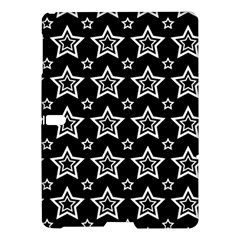 Star Black White Line Space Samsung Galaxy Tab S (10.5 ) Hardshell Case