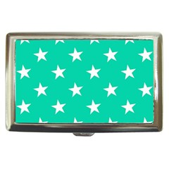 Star Pattern Paper Green Cigarette Money Cases