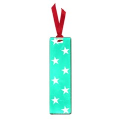 Star Pattern Paper Green Small Book Marks
