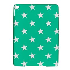 Star Pattern Paper Green iPad Air 2 Hardshell Cases