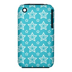 Star Blue White Line Space Sky iPhone 3S/3GS