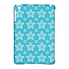 Star Blue White Line Space Sky Apple iPad Mini Hardshell Case (Compatible with Smart Cover)