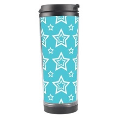 Star Blue White Line Space Sky Travel Tumbler