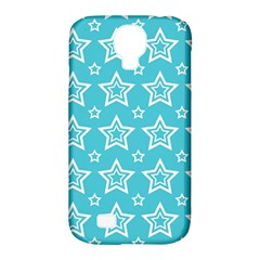 Star Blue White Line Space Sky Samsung Galaxy S4 Classic Hardshell Case (PC+Silicone)