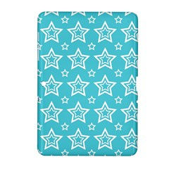 Star Blue White Line Space Sky Samsung Galaxy Tab 2 (10.1 ) P5100 Hardshell Case