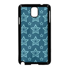 Star Blue White Line Space Samsung Galaxy Note 3 Neo Hardshell Case (Black)