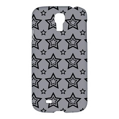 Star Grey Black Line Space Samsung Galaxy S4 I9500/I9505 Hardshell Case