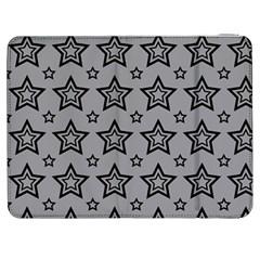 Star Grey Black Line Space Samsung Galaxy Tab 7  P1000 Flip Case