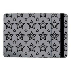 Star Grey Black Line Space Samsung Galaxy Tab Pro 10.1  Flip Case