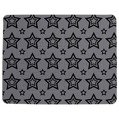 Star Grey Black Line Space Jigsaw Puzzle Photo Stand (Rectangular)