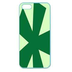 Starburst Shapes Large Circle Green Apple Seamless iPhone 5 Case (Color)