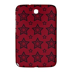 Star Red Black Line Space Samsung Galaxy Note 8.0 N5100 Hardshell Case