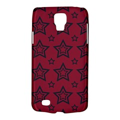 Star Red Black Line Space Galaxy S4 Active